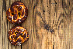 Pretzels, traditional German baked bread Royalty Free Stock Photography