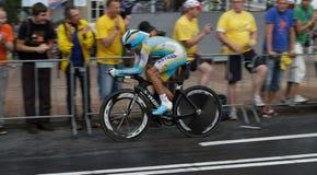 Épreuve 2010 - Rotterdam de temps de prologue de Tour de France Photographie stock libre de droits