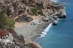 preveli пляжа Стоковые Изображения