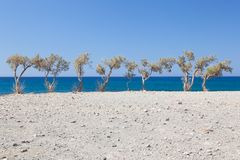 Preveli Beach 1 Royalty Free Stock Images