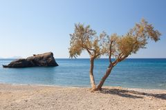 Preveli Beach 2 Royalty Free Stock Images