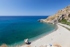 Preveli Beach 4 Royalty Free Stock Photography