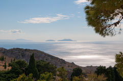 Preveli coastline Stock Photography