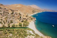 Preveli, Crete Royalty Free Stock Image