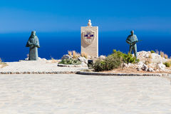 Preveli International Memorial for Resistance and Peace Royalty Free Stock Image