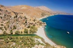Preveli, Kreta Lizenzfreies Stockbild