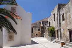 Preveli monastery Stock Photography