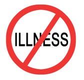 Prevenção da doença ilustração do vetor