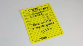 Prevenção do câncer e pesquisa da saúde do ` s das mulheres fotos de stock