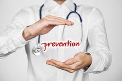 Prevenção dos cuidados médicos foto de stock