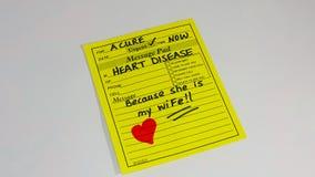 Prevenção e tratamento da doença cardíaca Fotos de Stock
