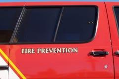 Prevención contra los incendios imagen de archivo