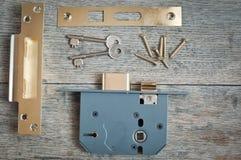Prevención de la seguridad en el hogar y del robo Fotografía de archivo