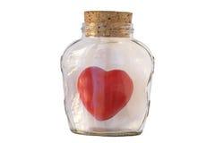 Prevención del corazón Fotos de archivo