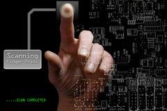 Prevenção do roubo de identidade Imagens de Stock