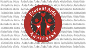 Prevent aids. Concept illustration on aids awareness Royalty Free Stock Photos