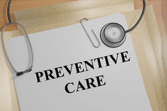 Preventative Care concept Royalty Free Stock Photo