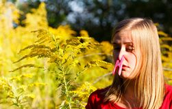 Preventing Allergy Stock Image