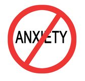 Prevention of anxiety Stock Images
