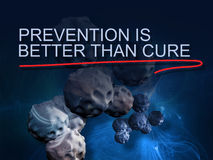 Prevention is better than cure Stock Photography