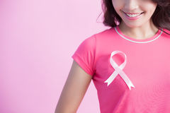 Prevention breast cancer concept Royalty Free Stock Photography
