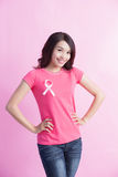 Prevention breast cancer concept Royalty Free Stock Photo