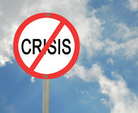 Prevention of crisis Stock Photography