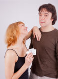 Prevention With Condom Royalty Free Stock Photo