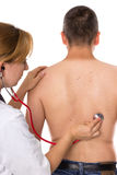 Preventive checkup Stock Images