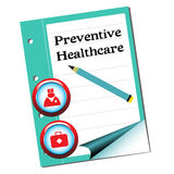 Preventive healthcare Royalty Free Stock Images