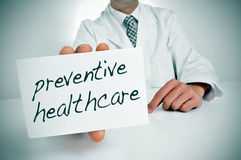 Preventive healthcare Royalty Free Stock Photo