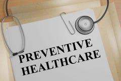 Preventive Healthcare - medical concept Stock Image