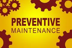 Preventive Maintenance concept Royalty Free Stock Photo
