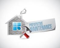 Preventive maintenance construction Royalty Free Stock Image