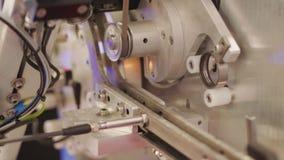 Preventive multi-filter technology, crack burn detection. Preventive multi-filter technology crack, grinder burn detection, testing details diameter. Items on stock footage