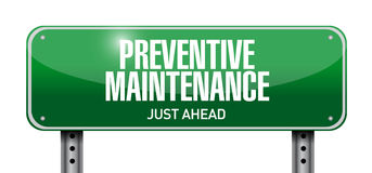 Preventive road approval sign concept Stock Photo