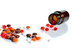 preventivpiller Royaltyfri Bild