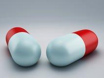 Preventivpiller 3d Royaltyfri Fotografi