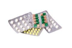 Preventivpillerar Royaltyfri Bild