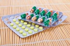 Preventivpillerar Arkivbilder