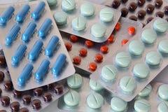 Preventivpillerar arkivfoto