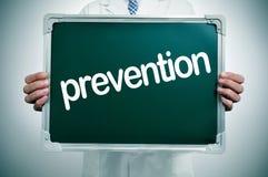 Prevenzione Immagini Stock