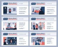 Prevenzione dell'aggressione sessuale per le donne e le punte di sicurezza royalty illustrazione gratis