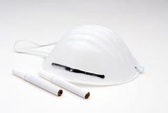 Prevenzione delle sigarette Fotografia Stock Libera da Diritti