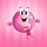 Prevenzione di cancro al seno Fotografia Stock