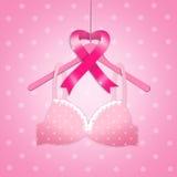 Prevenzione di cancro al seno Immagine Stock