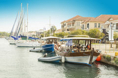 Preveza port. Preveza city port in the summer Greece Stock Photography