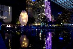 Preview of Aurora in city Dallas Stock Image