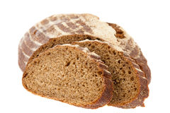 Preview bread loaf on white background Stock Photography