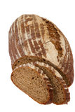 Preview bread loaf on white background Royalty Free Stock Photos